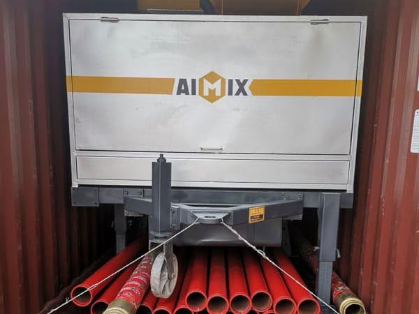 diesel concrete mix pump