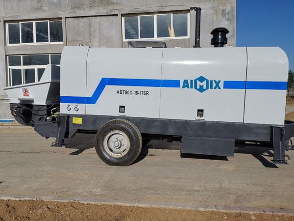 ABT80C Trailer Concrete Pump
