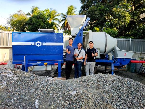 Concrete Mixer with Pump for Sale