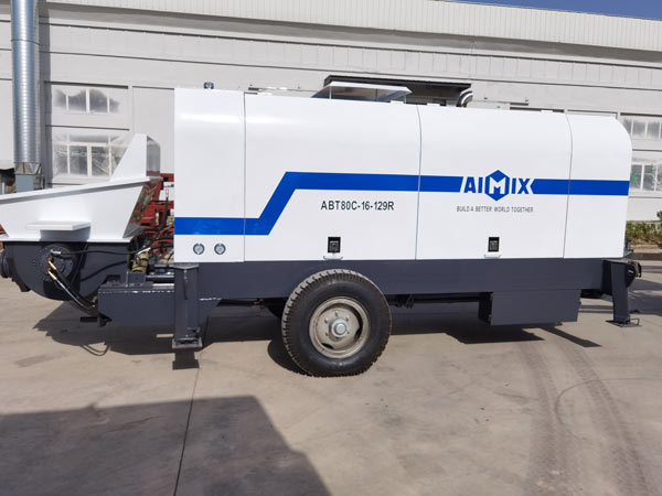 ABT80C Dizeli Trailer Mounted Pampu halisi