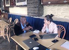AIMIX Sales Team Visiting Customers in Kenya