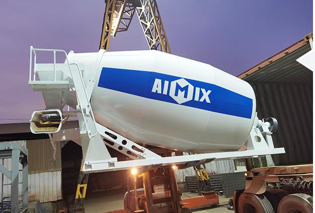 Concrete mixer truck/drum