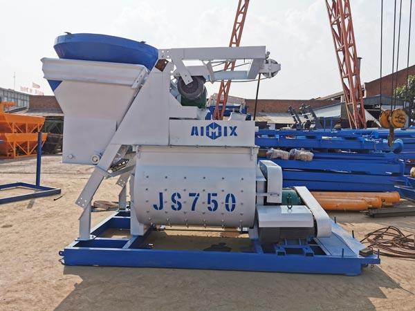 JS500 Saruji Mixer kwa 35 m3 / h Kundi Kupanda