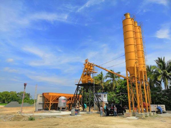Philippines AJ35 Concrete Plant