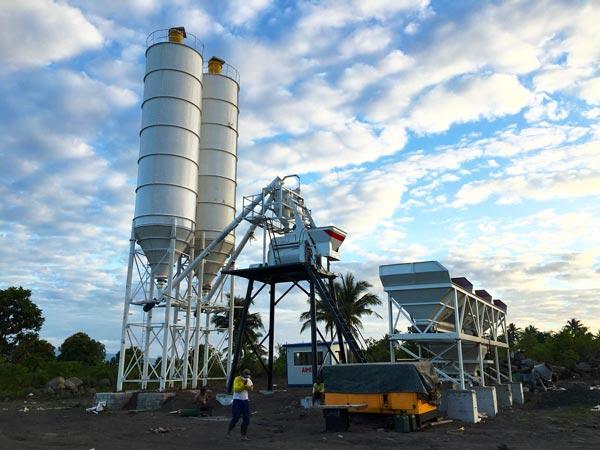 Philippines concrete plant AJ50