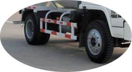 4×2 chassis ya Concrete Transit Mixer kwa ajili ya kuuza