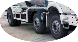 6×2 chassis ya Concrete Transit Mixer kwa ajili ya kuuza