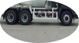 6×4 chassis ya Concrete Transit Mixer kwa ajili ya kuuza