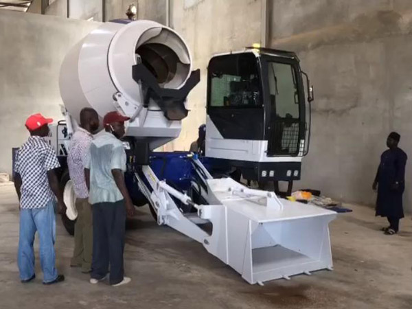 AS-3.5 Self Loading Concrete Mixer Has Arrived in Nigeria