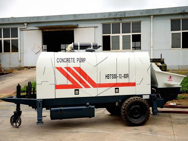 HBTS50-SR Trailer Concrete Pump