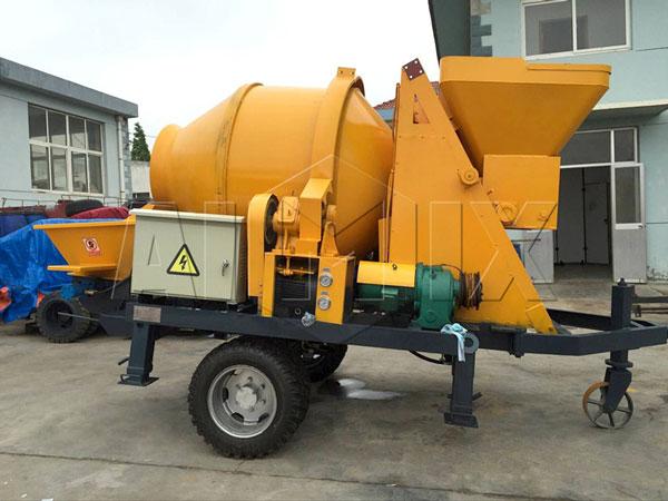 electric concrete mixer pump for sale