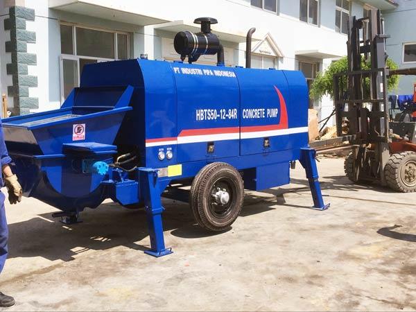 Stationary Concrete Pump
