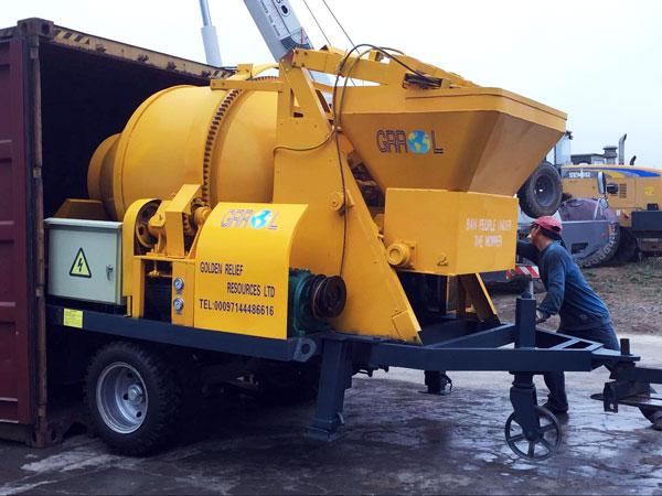 small electric concrete mixer pump to Somalia