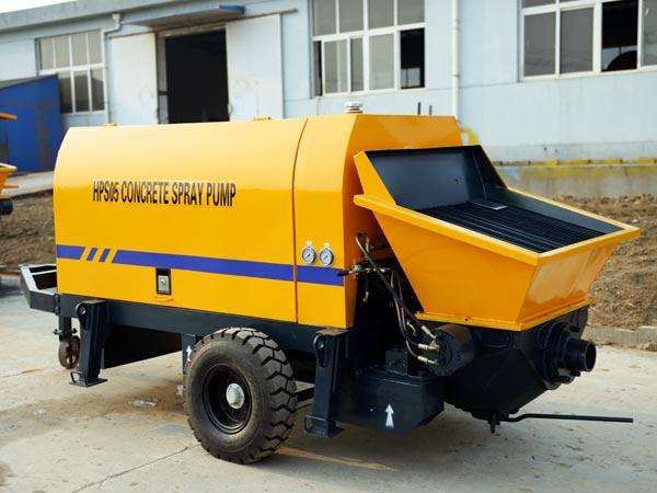 5 m3/h cement mortar pump