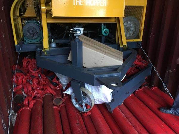 fix concrete mixer pump