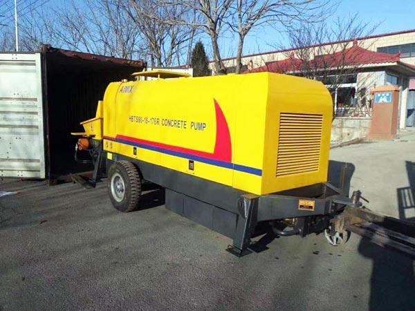 transport concrete pump to Kazakhstan