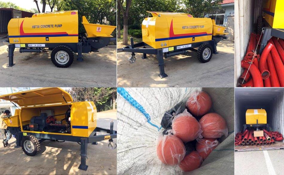 concrete pump exporting to Kenya