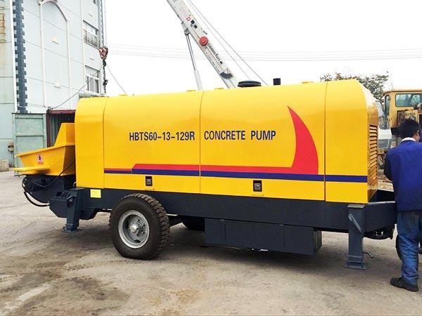 60 m3/h Trailer Concrete Pump