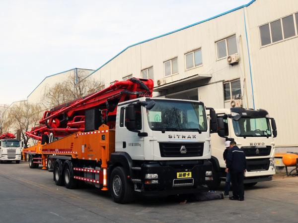 THB 44-5RZ Concrete Boom Pump for Sale