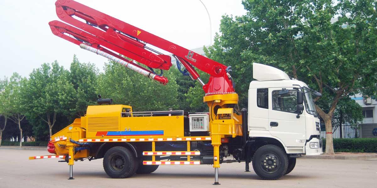 truck Concrete Pump Indonesia
