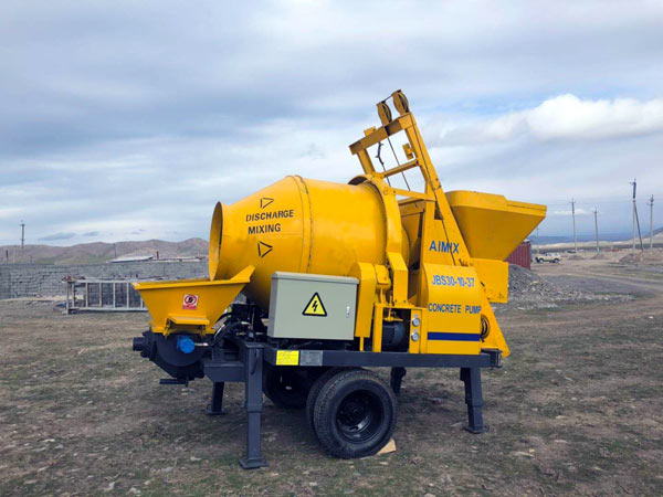 ABJZ30D concrete mix pump