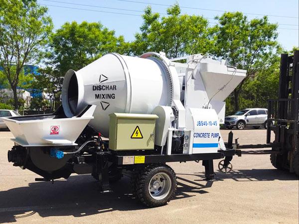 ABJZ40D concrete mix pump