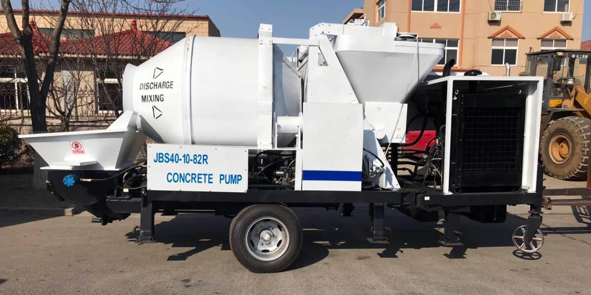 mix Concrete Pump Indonesia