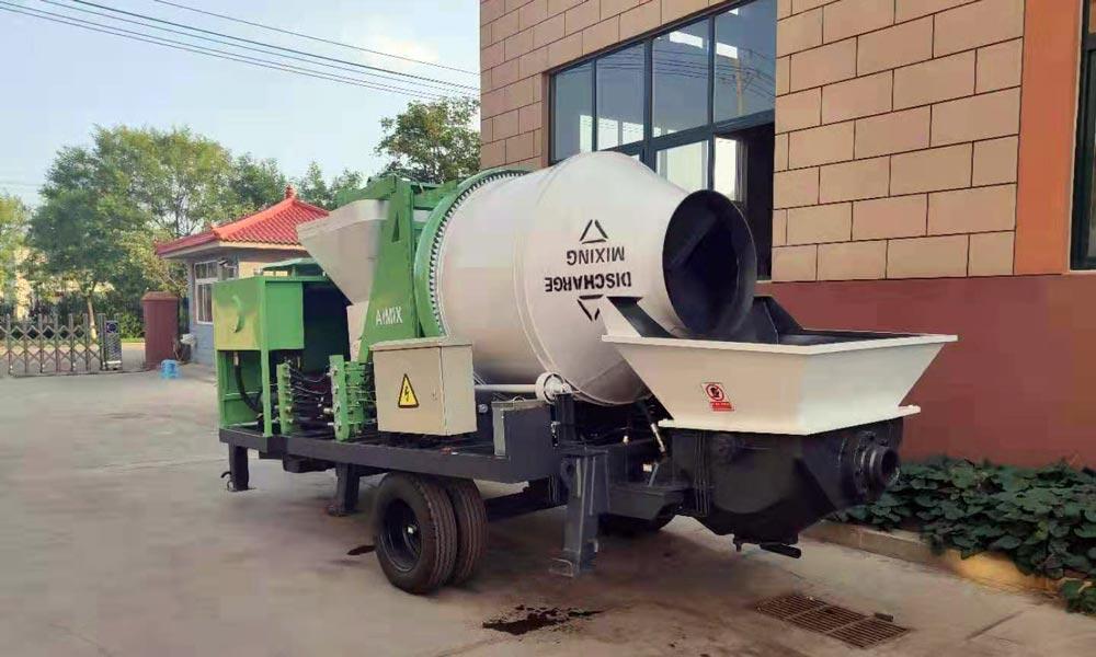 40m3/h concrete mix pump