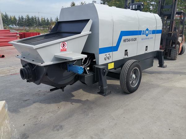 Deliver ABT40C Portable Concrete Pump to Indonesia
