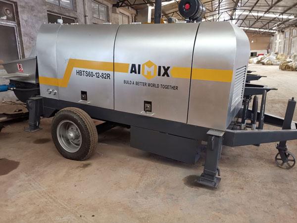ABT60C Concrete Trailer Pump