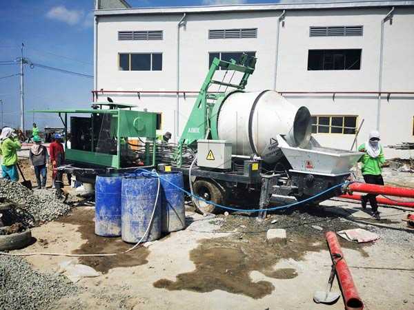 Diesel Concrete Mixer Pump In Cavite Philippines