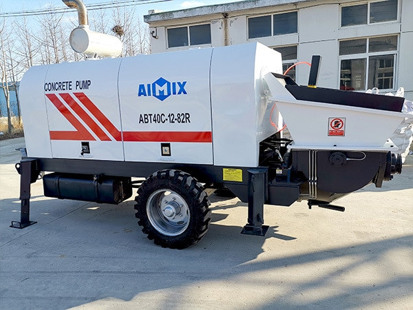 ABT40C Trailer Concrete Pump