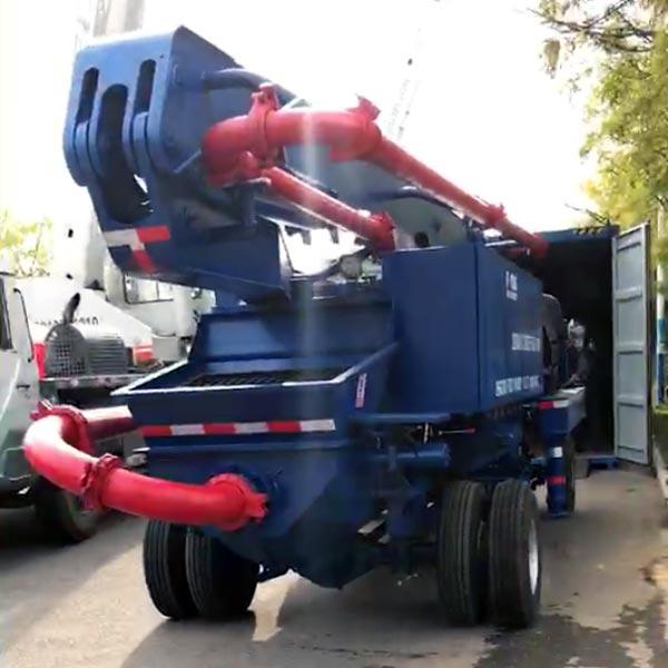 Concrete Pump Truck 14m