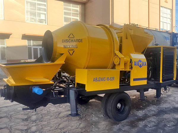 ABJZ40C Diesel Mixer Pump to Malaysia