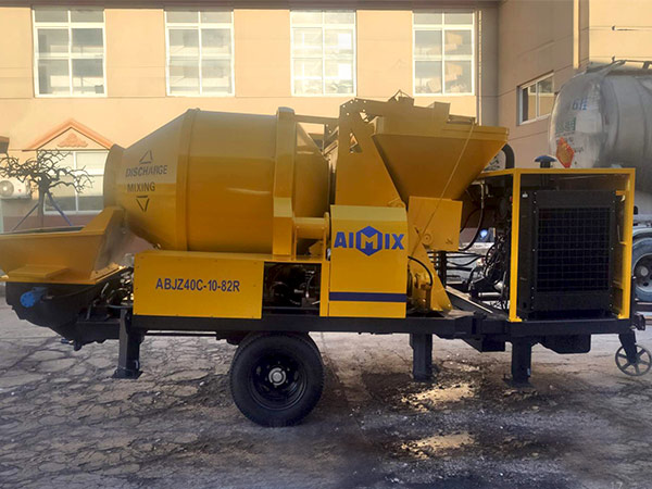 Concrete Mixer Pump ABJZ40C