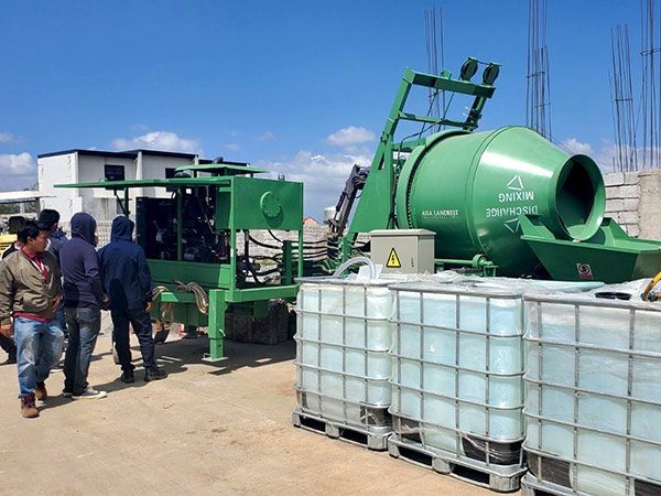Concrete Pump Mixer For House Building