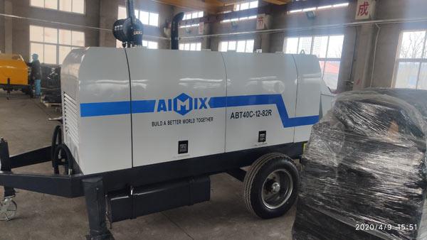 ABT40C Trailer Concrete Pump