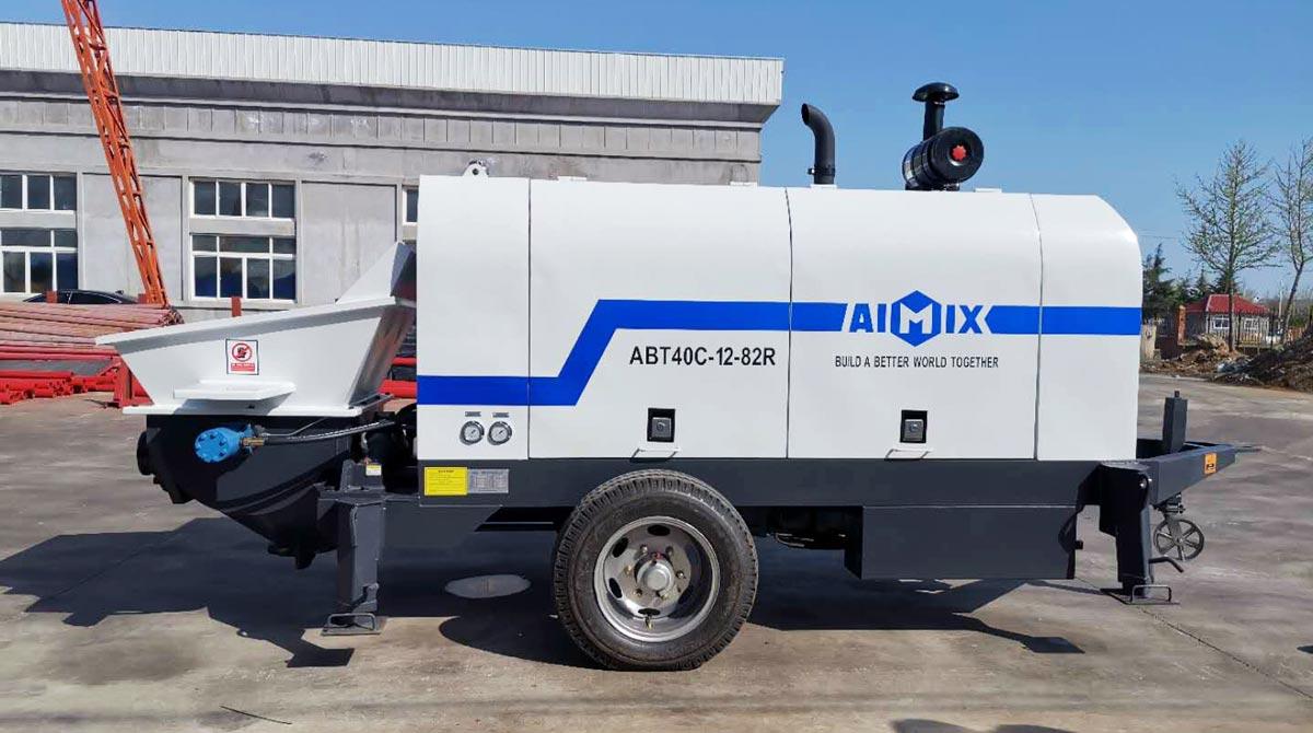 Ready Mix Concrete Pump in Kenya