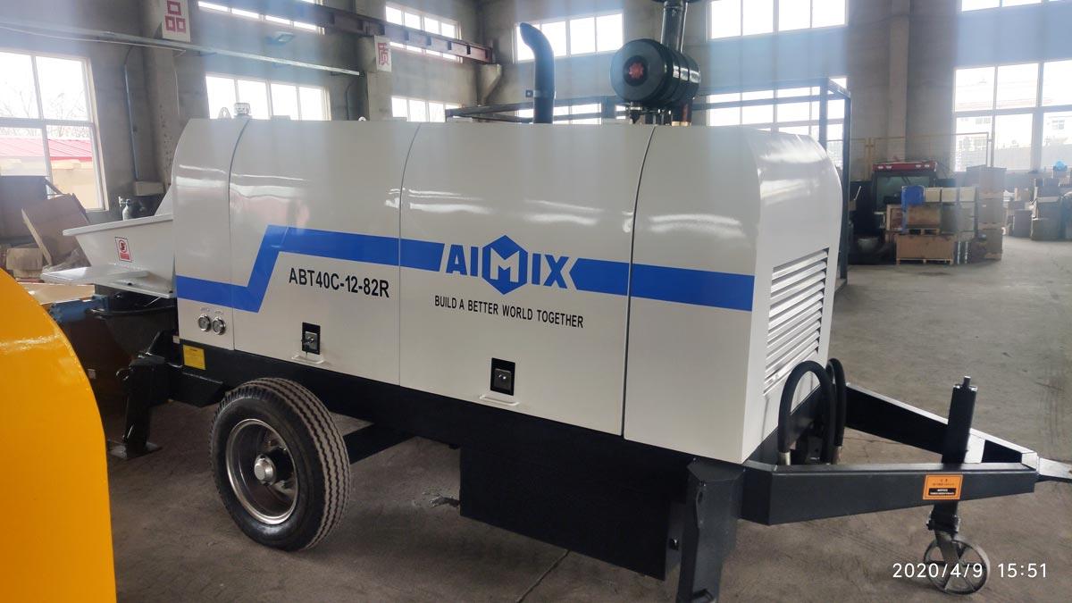 Testing ABT40C Before Delivering To Ukraine