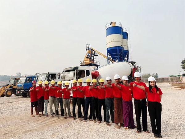 After-sales Team in Myanmar