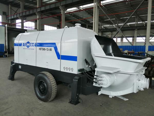 ABT60D Electric Trailer Concrete Pump