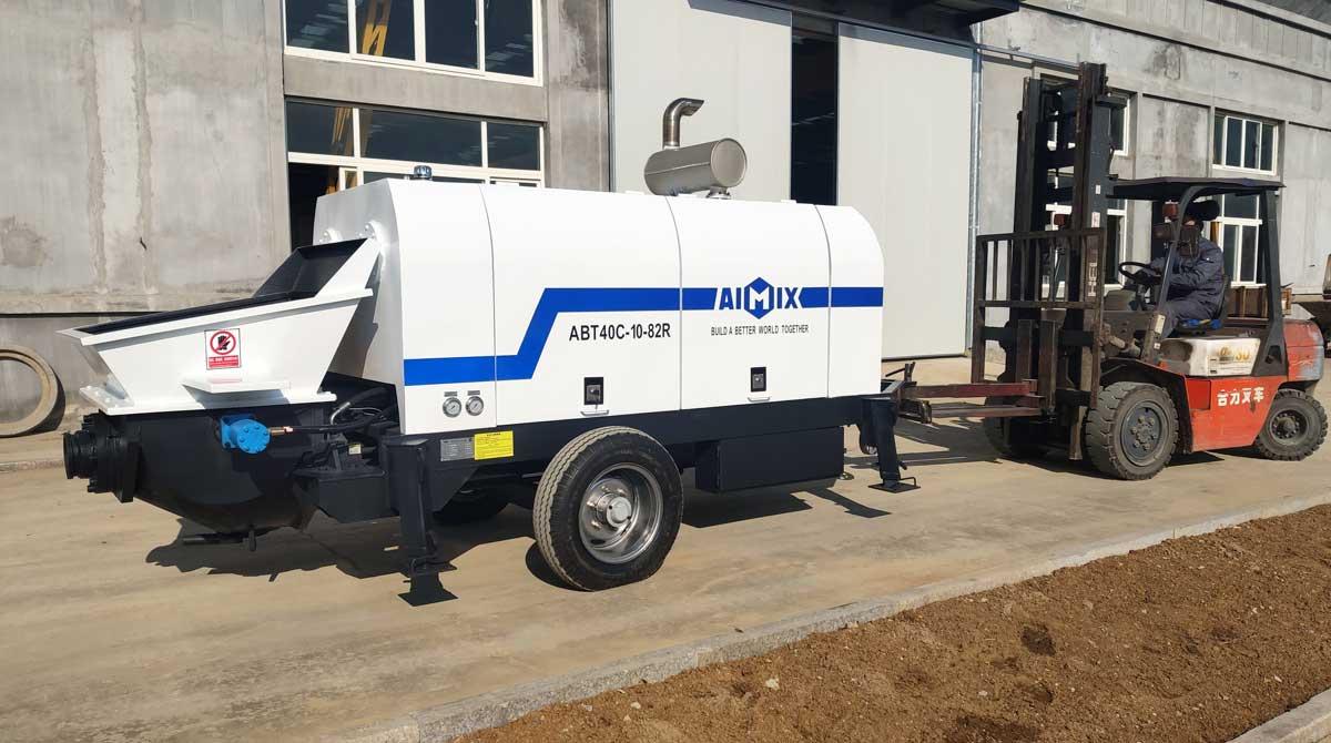 Concrete Trailer Pump in Kenya