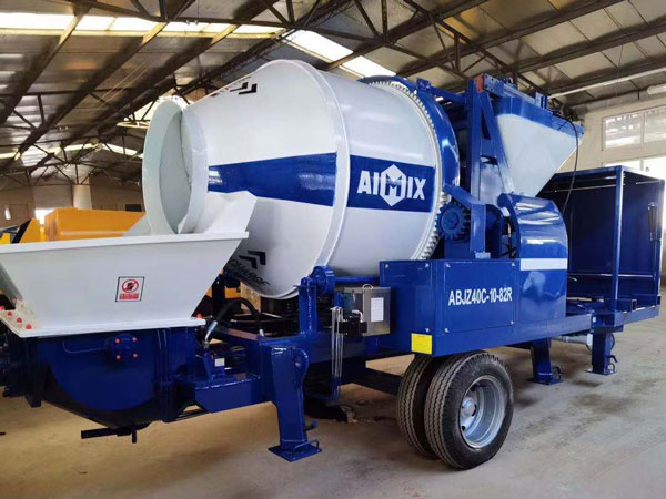 ABJZ40C Concrete Pump and Mixer