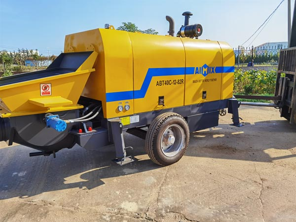 ABT40C Ready Mix Concrete Pump