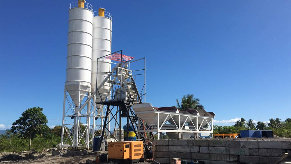 AJ-50 Concrete Plant in Philippines