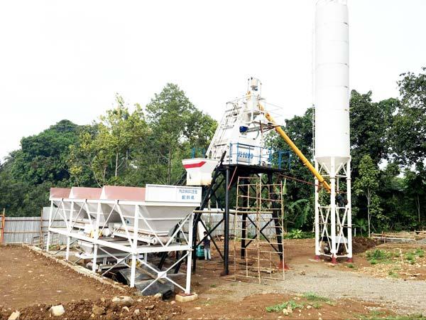 AJ-50 Ready Mix Concrete Plant