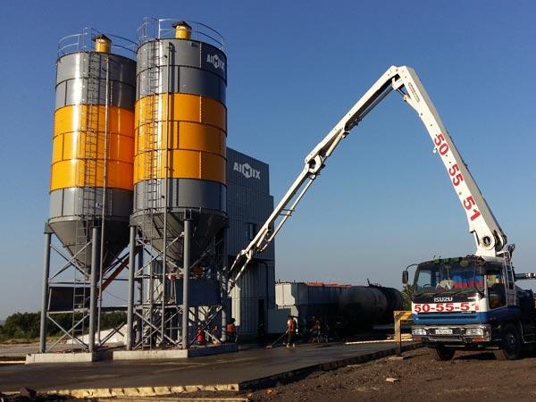 AJ120 Concrete Plant for Sale
