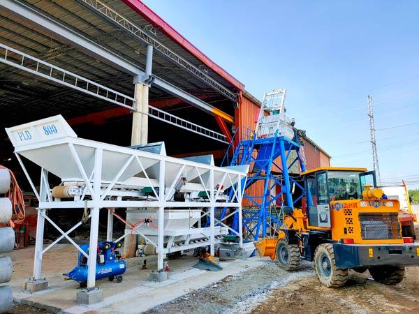AJ25 Stationary Concrete Mixing Plant