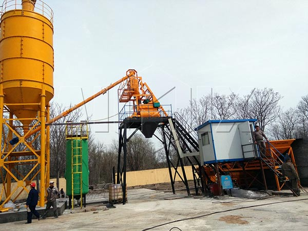 AJ25 Stationary Concrete Plant
