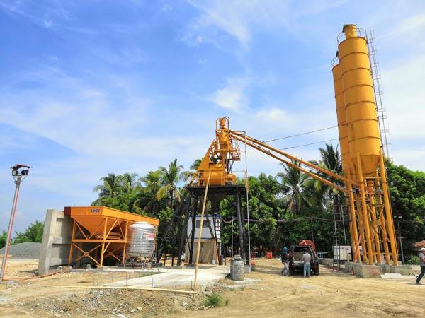 AJ35 Stationary Concrete Plant